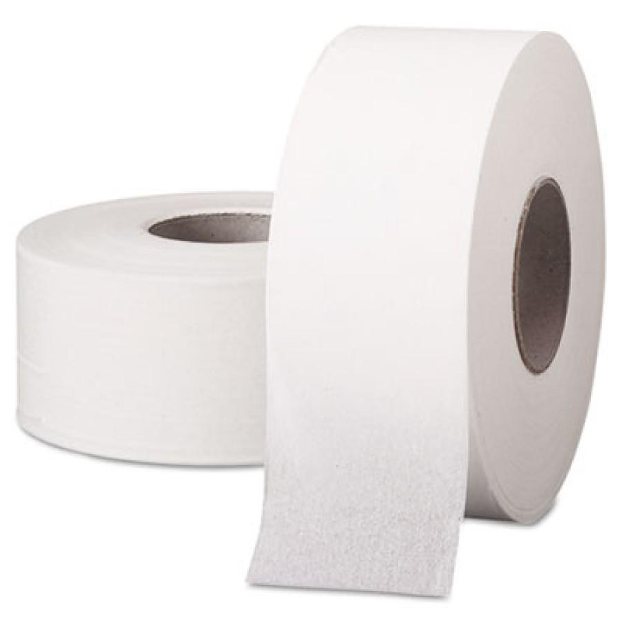 "TOILET PAPER TOILET PAPER - SCOTT Jumbo Roll Bathroom Tissue, 1-Ply, 9"" dia, 2000 ftKIMBERLY-CLARK P"