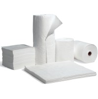 OIL ABSORBENT PAD OIL ABSORBENT PAD - Oil selective sng pads:  19?X15?Highly absorbent pads, rolls,