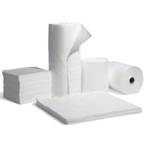 OIL ABSORBENT ROLL OIL ABSORBENT ROLL - Oil selective roll:  15?X150?Highly absorbent pads, rolls, b
