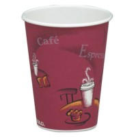 PAPER CUP | PAPER CUP | 20/50'S - C-PPR HOT CUP 8OZ BISTRO  20/50CUP,B