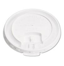 HOT CUP LIDS HOT CUP LIDS - Liftback & Lock Tab Cup Lids for Foam Cups, Fits SLOX12J/16NJ/20NJ, Whit