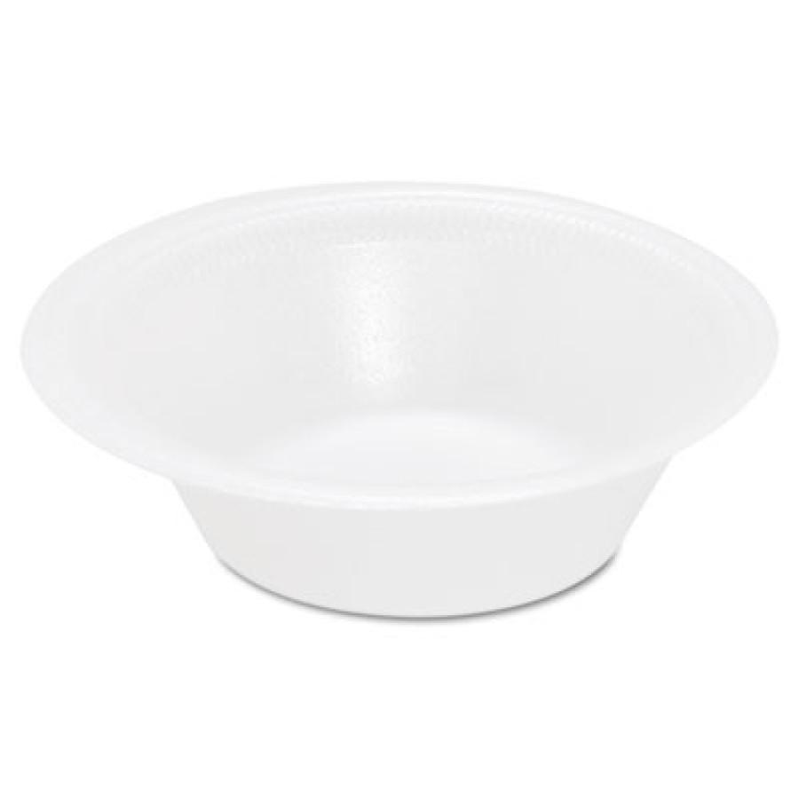 FOAM BOWLS FOAM BOWLS - Foam Bowl, 12 oz, WhiteSOLO  Cup Company Basix  Foam DinnerwareC-BASIX UNLMN