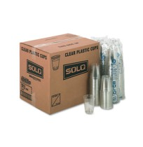 PLASTIC CUPS PLASTIC CUPS - Plastic Party Cold Cups, 12 oz, ClearSOLO  Cup Company Party Plastic Col