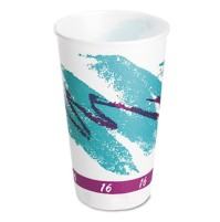 FOAM CUPS FOAM CUPS - Symphony Design Trophy XL Hot Cups, 16 oz, BeigeSOLO  Cup Company Trophy  Insu