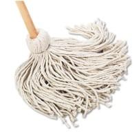 """DECK MOP DECK MOP - Deck Mop, 54"""" Wooden Handle, 20-oz. Cotton Fiber HeadUNISAN Handle/Deck MopsC-20"""