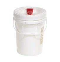 Overpack Drum Overpack Drum -5-Gal Pail W/ Screw Top 12in Dia X 16.75in 1/Pkg5-Gallon Pail with Scre