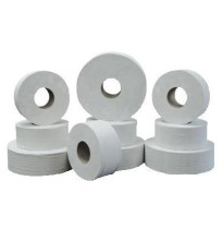 TOILET PAPER TOILET PAPER - Green Heritage Jumbo Toilet Tissue, 2-Ply, 12-in Diameter, Economy SizeJ