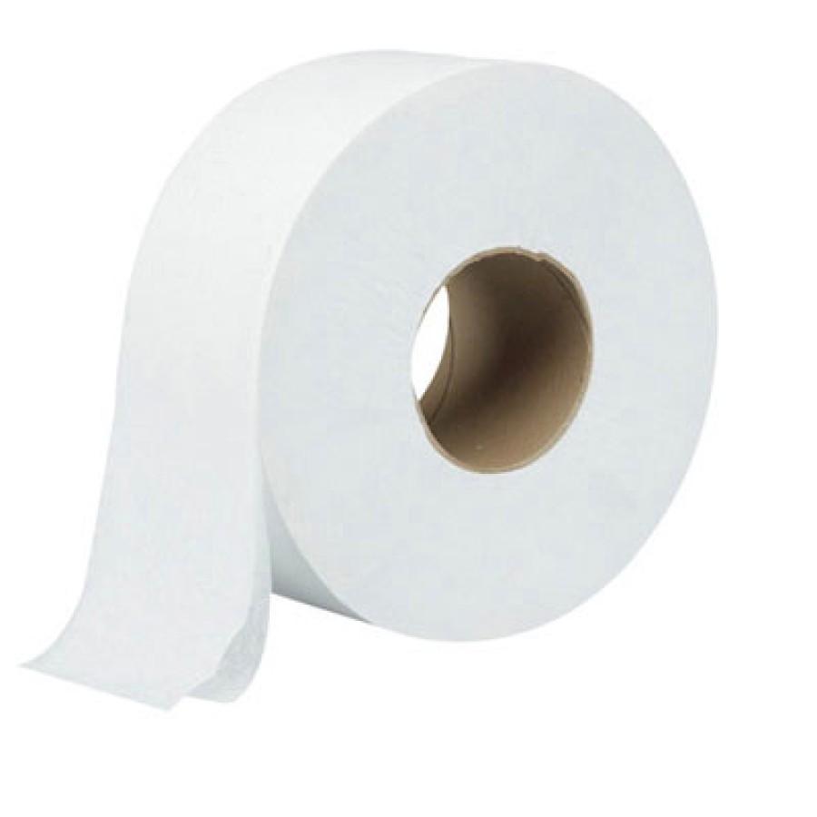 TOILET PAPER TOILET PAPER - Green Heritage Jumbo Toilet Tissue, 1-Ply, White, 9-in DiameterJumbo rol