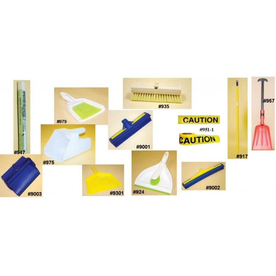 HAZMAT DUST PAN HAZMAT DUST PAN - Counter Broom with dust panCounter Broom with dust panSpill Kit Ac