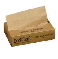 Deli Sheets Deli Sheets - Bagcraft Papercon  EcoCraft  Interfolded Soy Wax Deli SheetsDELI SHTS,ECOC