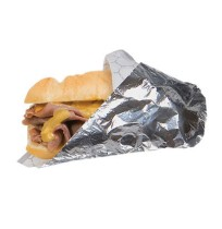 Sandwich Wrap Sandwich Wrap - Bagcraft Papercon  Honeycomb Insulated WrapWRAP,HNYCOMB,10.5X13Honeyco