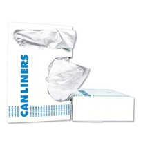 GARBAGE BAGS GARBAGE BAGS - Low-Density Can Liners, 30gal, .75mil, 30w x 36h, White, 25/RollBoardwal