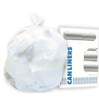 GARBAGE BAGS GARBAGE BAGS - High-Density Can Liners, 40 x 46, 45-Gal, 17 Micron Equivalent, Clear, 2