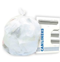 GARBAGE BAGS GARBAGE BAGS - High-Density Can Liners, 43 x 47, 56-Gal, 22 Micron Equivalent, Clear, 2