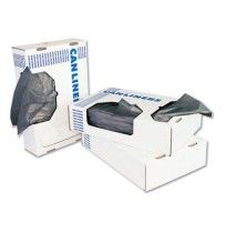 GARBAGE BAGS GARBAGE BAGS - Low-Density Can Liners, 55 gal, .95mil, 43w x 47h, Gray, 25/RollBoardwal
