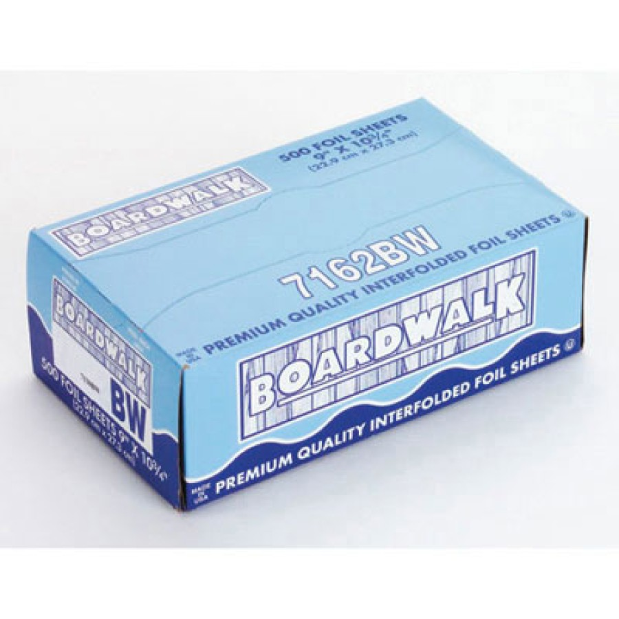 Aluminum Foil Aluminum Foil - Boardwalk  Pop-Up Aluminum Foil SheetsFOIL,SHEET,POPUP,12X10.75Pop-Up