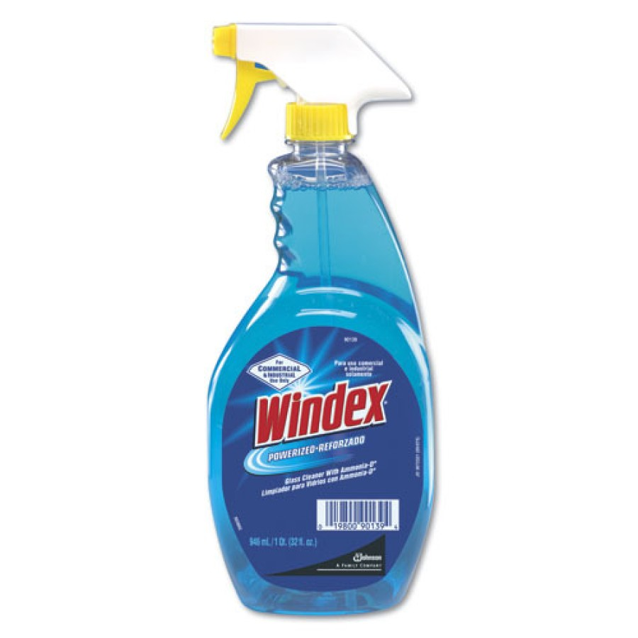 Windex - Windex  Ammonia-D  Glass Cleaner, WINDEX,SPRY, 12/ 32 Oz bottles per Case