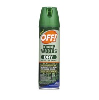 BUG SPRAY BUG SPRAY - OFF Deep Woods Dry Insect Repellent, 4oz, Aerosol, NeutralOFF!  Deep Woods OFF