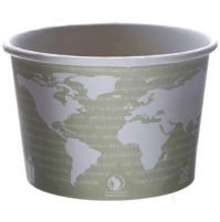 PAPER CUP | PAPER CUP | 500/CS - C-16 OZ ECO SOUP CUP WORLD ART DESIGN