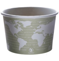 PAPER CUP | PAPER CUP | 500/CS - C-16 OZ ECO SOUP CUP WORLD ART DESIGN