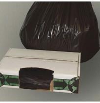 GARBAGE BAG GARBAGE BAG - Linear Low-Density Ecosac, 38 x 60, 55-Gallon, 1.5 Mil, Black, 100/CaseEss