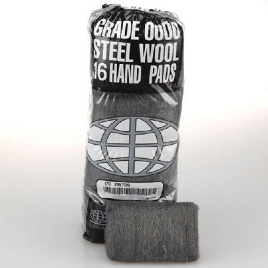 Steel Wool Pad Steel Wool Pad - GMT Industrial-Quality Steel Wool Hand PadsSTEEL WOOL PAD,#2,M-CRSEI