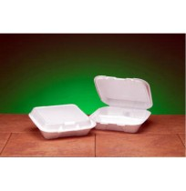 Hinged Container Hinged Container - Genpak  Foam Hinged Carryout ContainersCNTNR,FOAM SM HING,3C,200