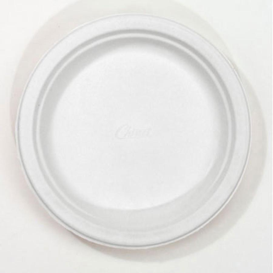 PAPER PLATE | PAPER PLATE | 1000/CS - C-CHINET PREM PPR PLT  6.75IN WH