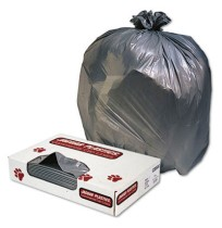 GARBAGE BAG GARBAGE BAG - Low-Density Can Liner, 33 x 39, 33-Gallon, 1.1 Mil, Gray, 100/CaseJaguar P