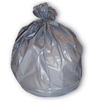 GARBAGE BAGS GARBAGE BAGS - Low-Density Can Liner, 38 X 58, 60-Gallon, 1.3 Mil, Gray, 40/RollJaguar