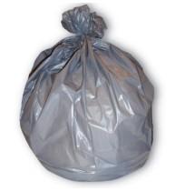 GARBAGE BAGS GARBAGE BAGS - Low-Density Can Liner, 38 X 58, 60-Gallon, 1.3 Mil, Gray, 40/RollJaguar