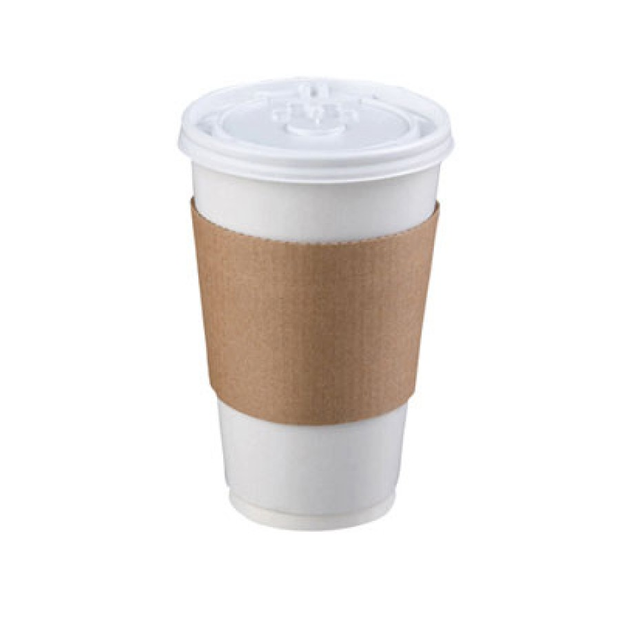 Hot Cup Sleeve, Brown (1200/case)