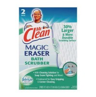 Magic Eraser Magic Eraser - Mr. Clean  Magic Eraser  Bath ScrubberBATH SCRUBBER,MAGIC ERASRMagic Era
