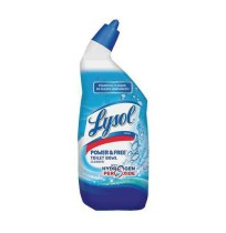 Lysol Lysol - LYSOL  Brand Power & Free Toilet Bowl CleanerCLEANER,TOILET BWL W/H,BEPower & Free Toi