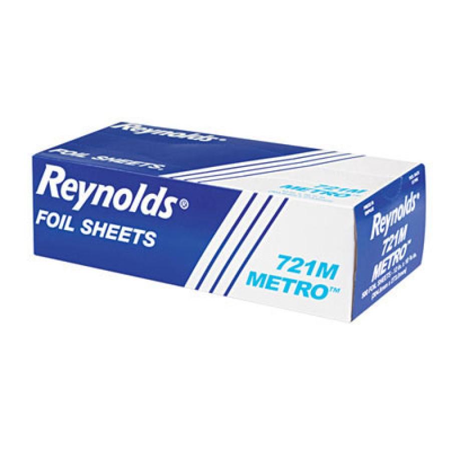 Aluminum Foil Aluminum Foil - Light-gauge pop-up aluminum foil sheets.FOIL SHTS,POP-UP,12X10.75Metro