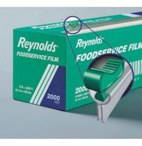 Saran Wrap Saran Wrap - Reynolds Wrap  Film with Easy Glide  Slide Cutter BoxPVC FLM ROLL,18X2000',C