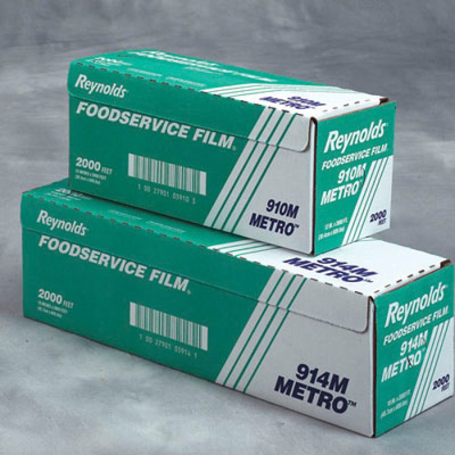 Saran Wrap Saran Wrap - Reynolds Wrap  Metro  Light-Duty Film with Cutter BoxPVC FOOD FLM,24X2000',C