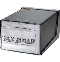 Dispenser Napkin Dispenser Napkin - San Jamar  Countertop Napkin DispenserNAP DSP,CTRTOP,7.6x11x5.5C