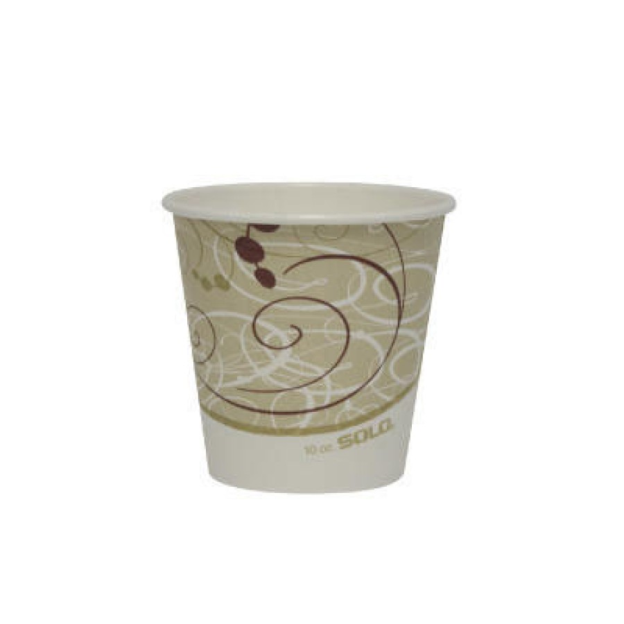 PAPER CUP | PAPER CUP | 20/50'S - C-SQT PPR HOT CUP 10OZ S PHNY 20/50P