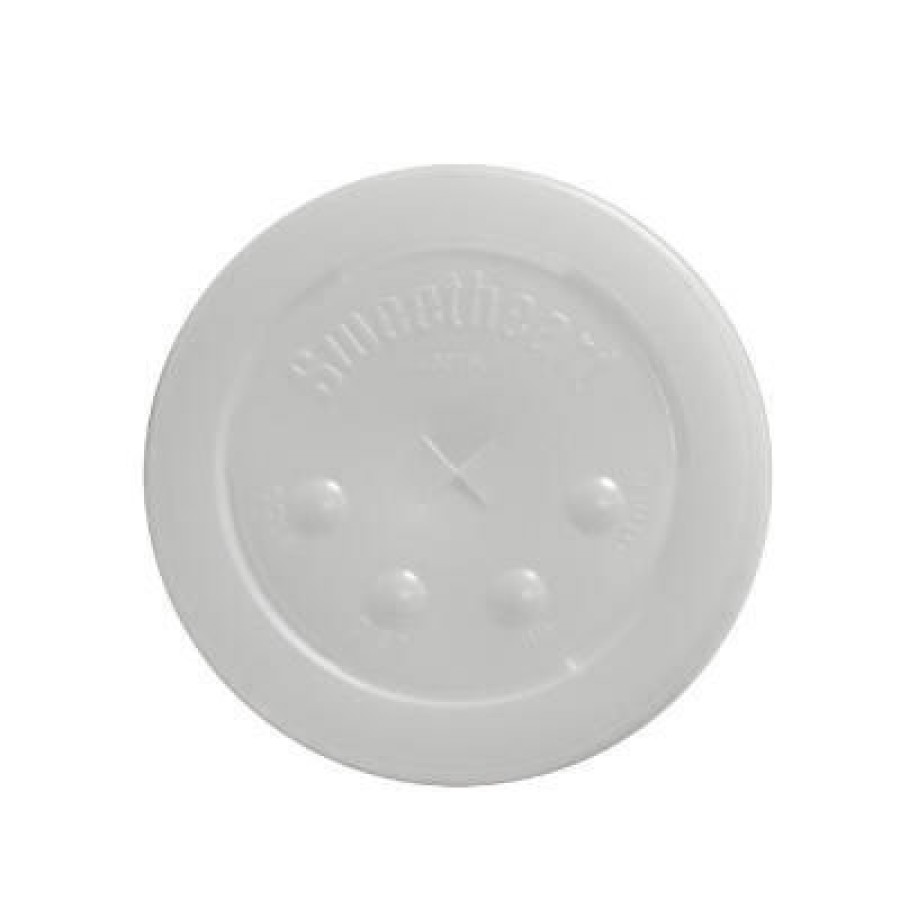 SLOTTED CUP LIDS SLOTTED CUP LIDS - Straw-Slot Cold Cup Lids, 16oz Cups, TranslucentStraw-slot plast