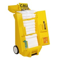 Oil Spill Cart Oil Spill Cart -Oil-Only Kit Kaddie 40inx20inx20in1/PkgOil-Only Spill Kit Kaddie