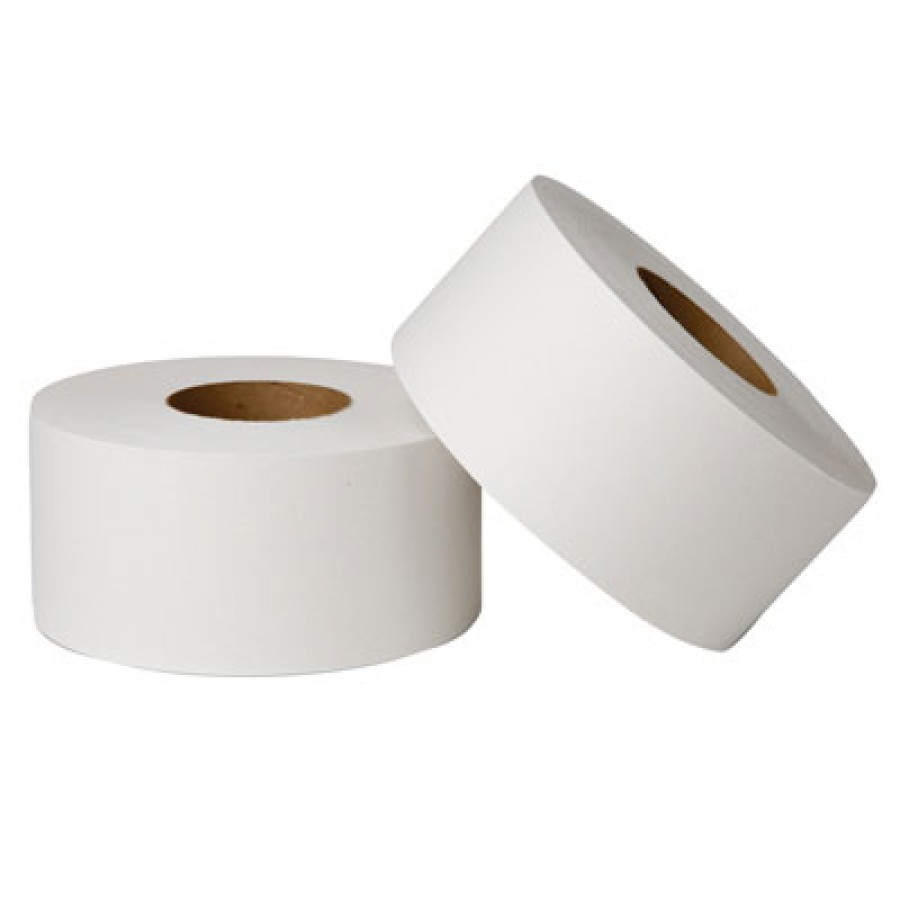 TOILET PAPER TOILET PAPER - EcoSoft Jumbo Bathroom Tissue, Green Seal, 2-Ply, 1000 Sheets/RollWausau