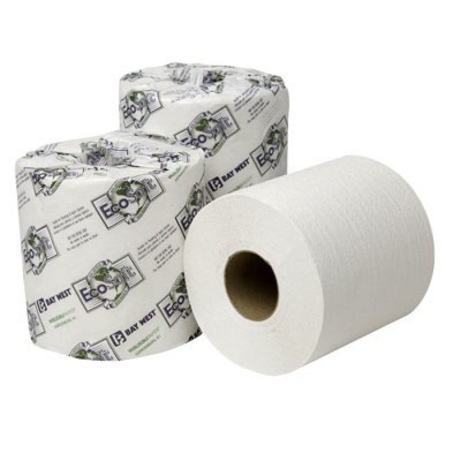 TOILET PAPER TOILET PAPER - EcoSoft Universal Bathroom Tissue, 1-Ply, 1000 Sheets/RollWausau Paper