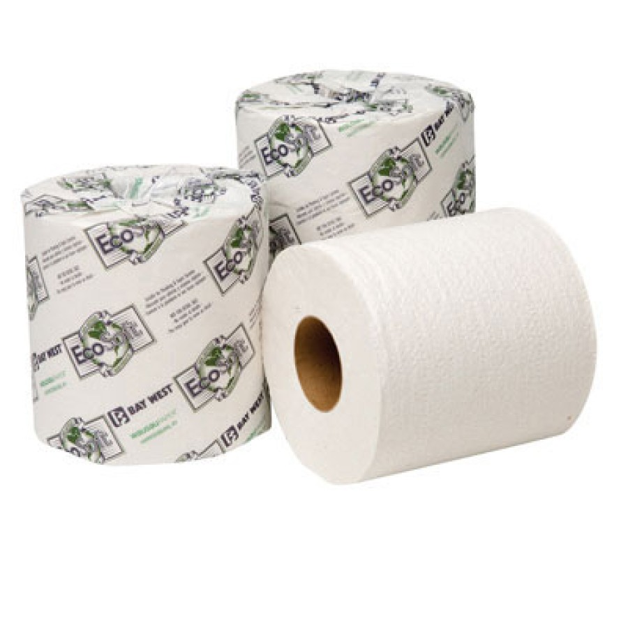 TOILET PAPER TOILET PAPER - EcoSoft Universal Bathroom Tissue, 2-Ply, 500 Sheets/RollWausau Paper  E