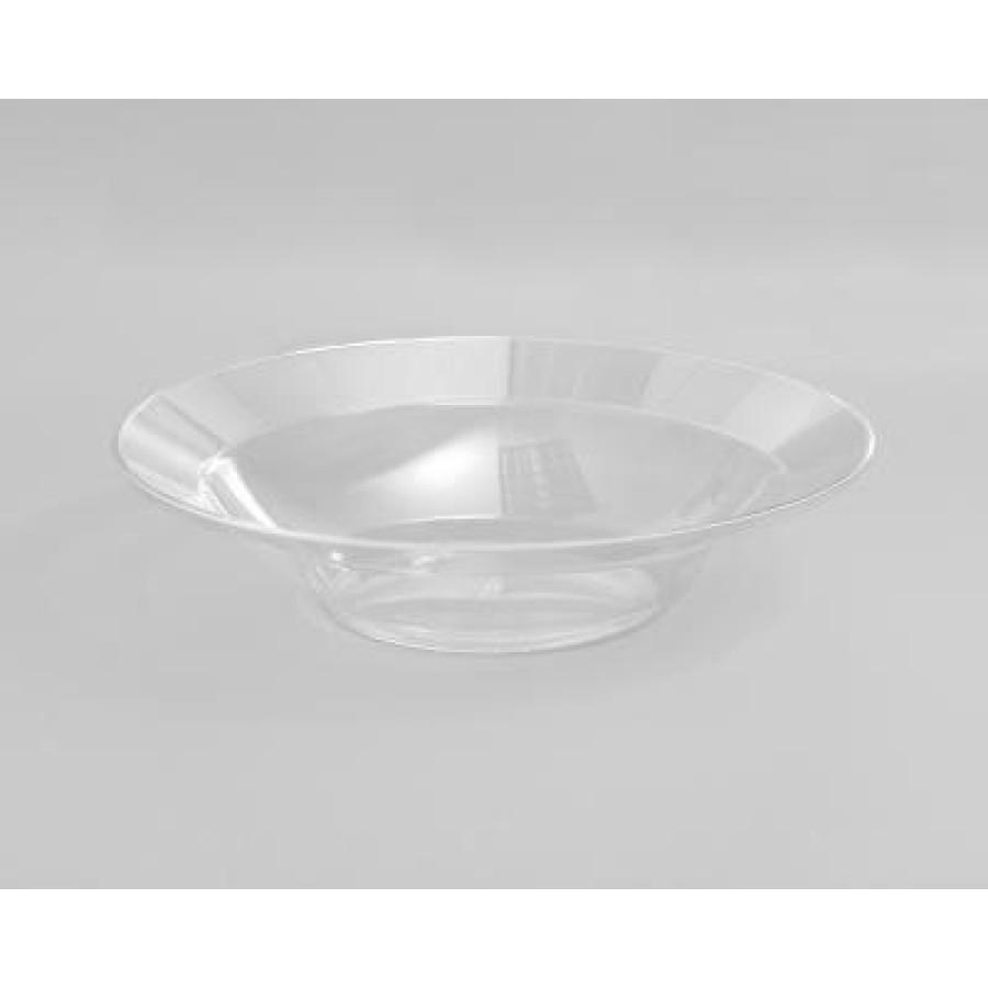 PLASTIC BOWLS PLASTIC BOWLS - Designerware Plastic Bowls, 10 Ounces, Clear, Round, 10/PackWNA Design
