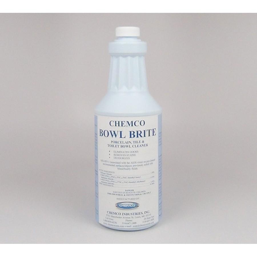 Acid Toilet Bowl Cleaner - Bowl Brite (Dozen)