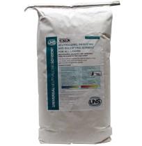 UNS 25 lb. multi-wall kraft bag w/ liner