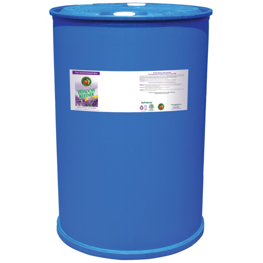 Window Cleaner, Lavender | 55 gal drum - (1/Drum)