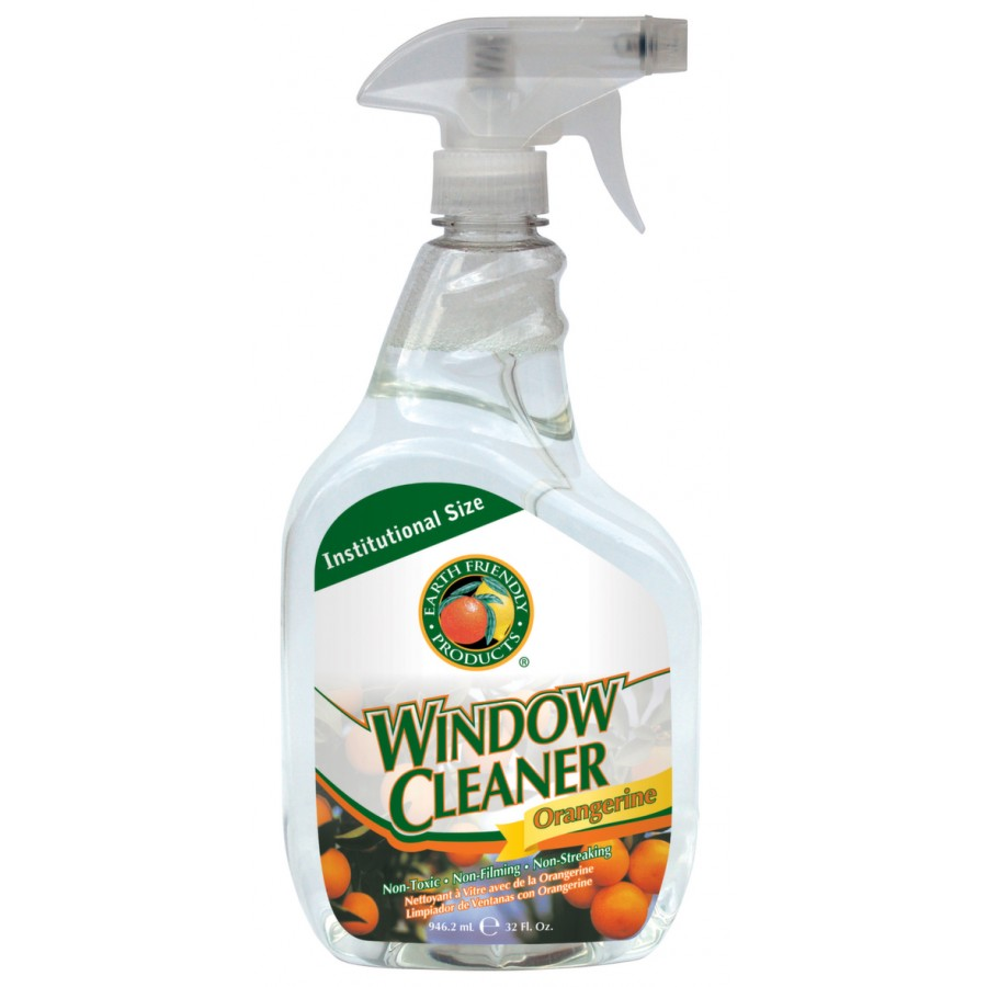 Window Cleaner, Orangerine  | 32 oz spray - (12/Case)