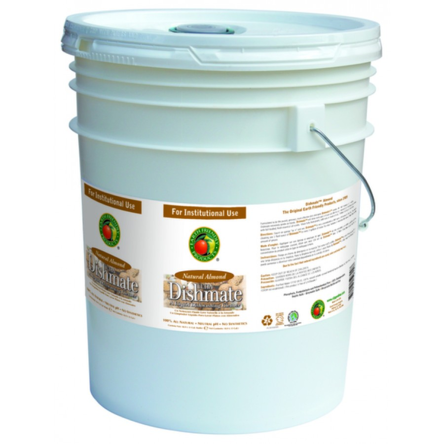 Dishmate Manual Dishwashing Liquid, Almond | 5 gal pail - (1/Pail)